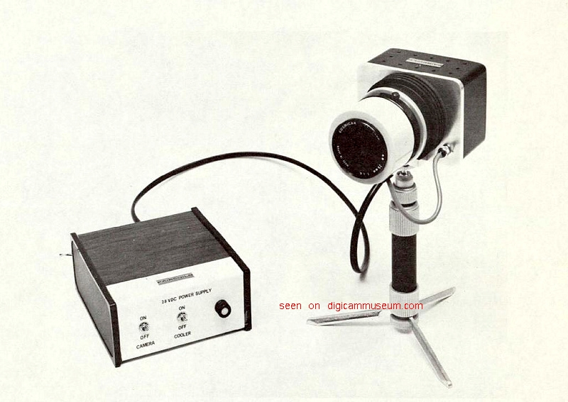 Fairchild/NASA Prototype camera (Photo Fairchild Corp.)