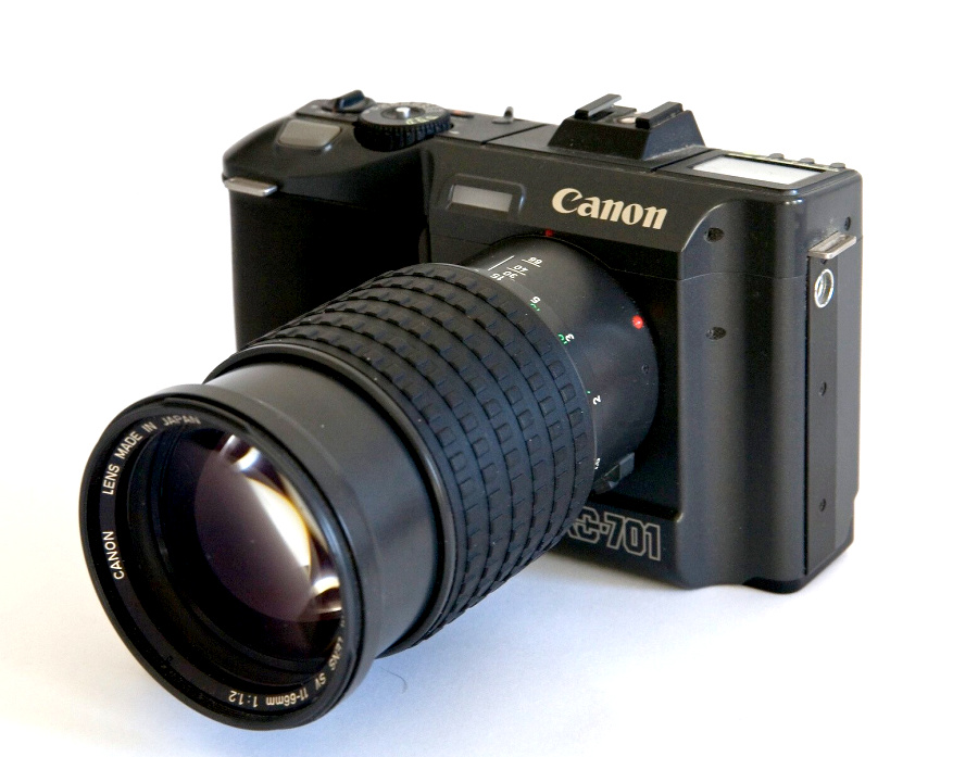 Canon RC-701 (© David Williams)
