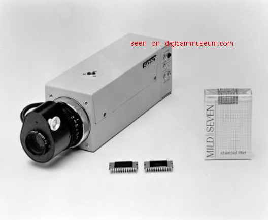 World's first color CCD camera XC-1 (Photo Sony)