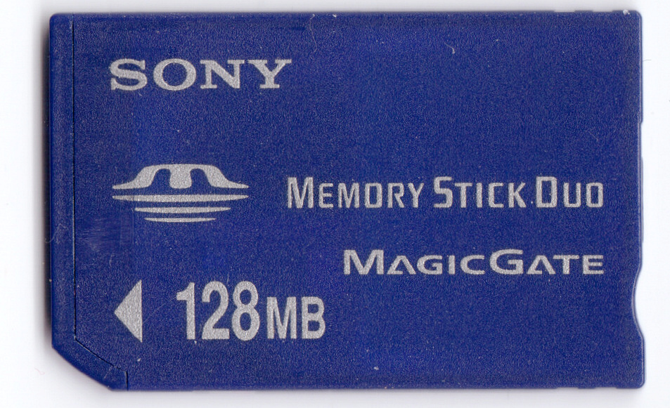 Memory Stick Duo front