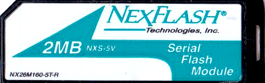 NexFlash Serial Flash Module