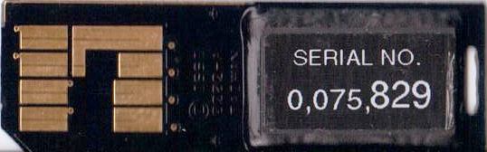 ISSI Serial Flash Module rear