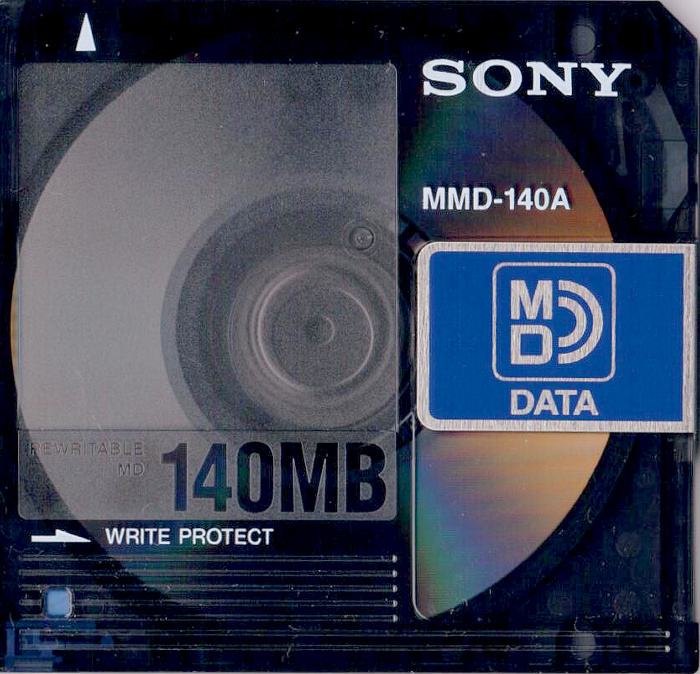 Sony MD Data front