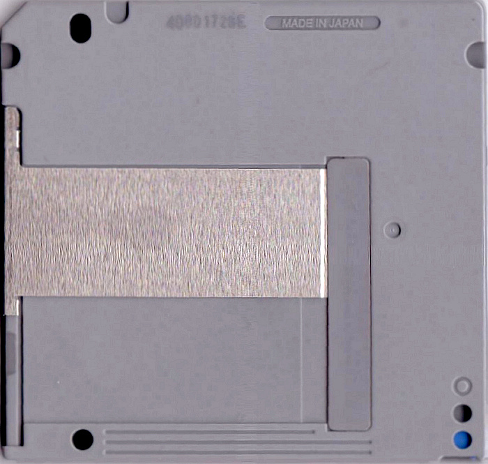 Sony MD Data rear