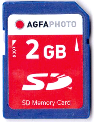 Regular SD card front