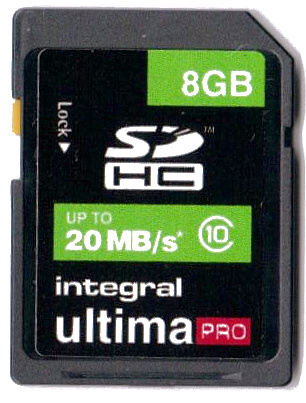 Regular SDHC card