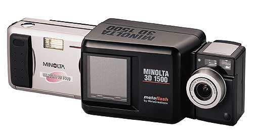 Minolta 3D 1500 (© Rick Smith/Reviews OnLine)