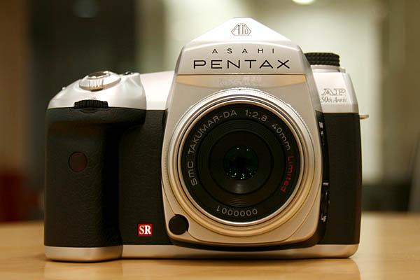 Pentax AP 50th anniversary DSLR (© Impress Corporation)