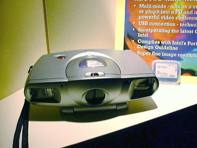 Intel 971 PC camera (© Intel Corporation)