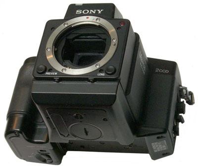 Sony MVC-5000 body (© B. Clarke)