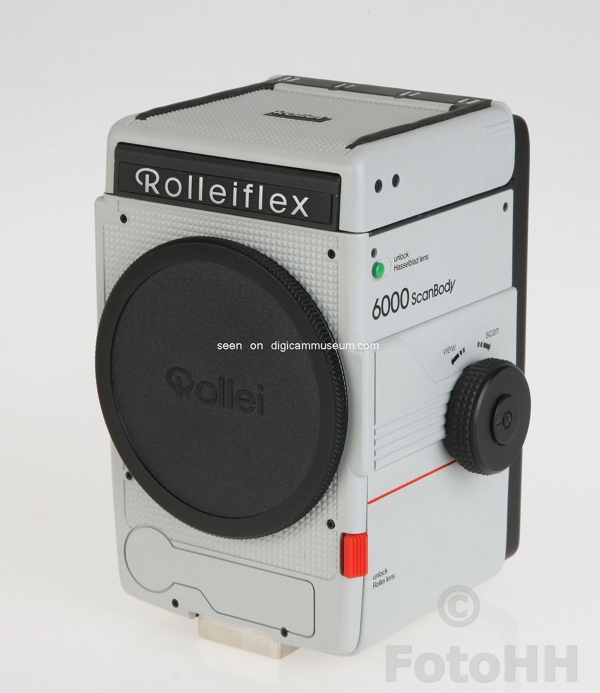 Rollei 6000 Scan Body Prototype (1989)