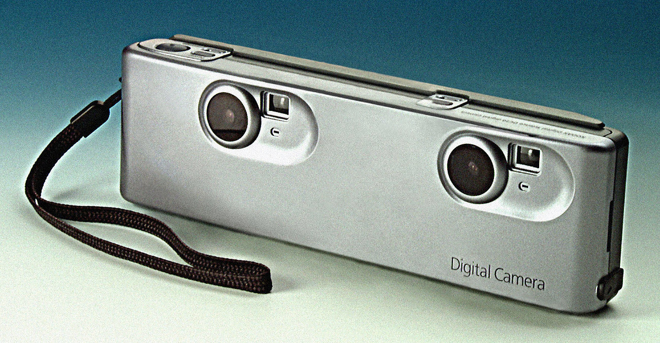 Kodak DC20 3D conversion (© David G Burder, FRPS)
