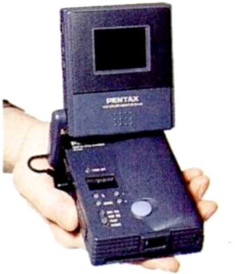 Pentax EI-C90 early prototype (© Popular Photography/Pentax)