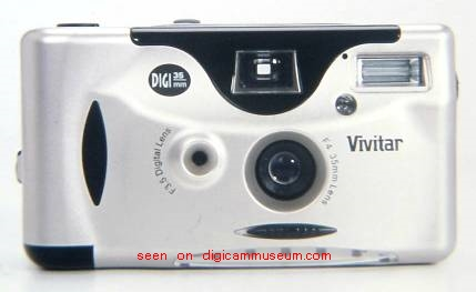Vivitar DIGI 35mm hybrid camera (© Imaging Resource)