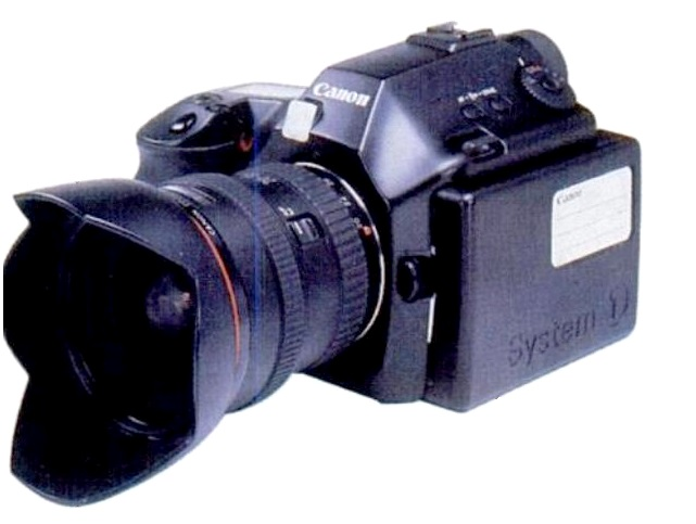 Canon digital EOS (Hi-Def Digital Camera) (© Canon/Popular Science)