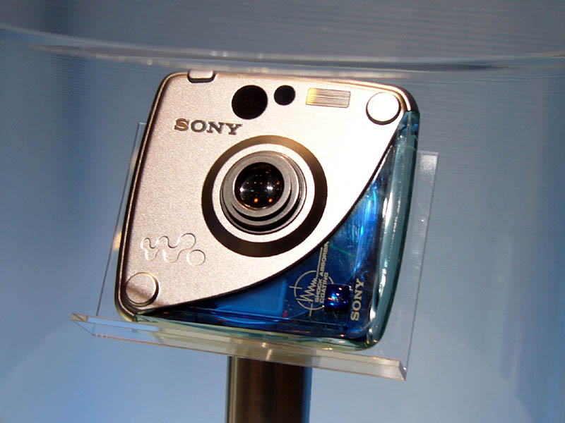 Sony Hi-MD camera concept (© Impress Corporation)