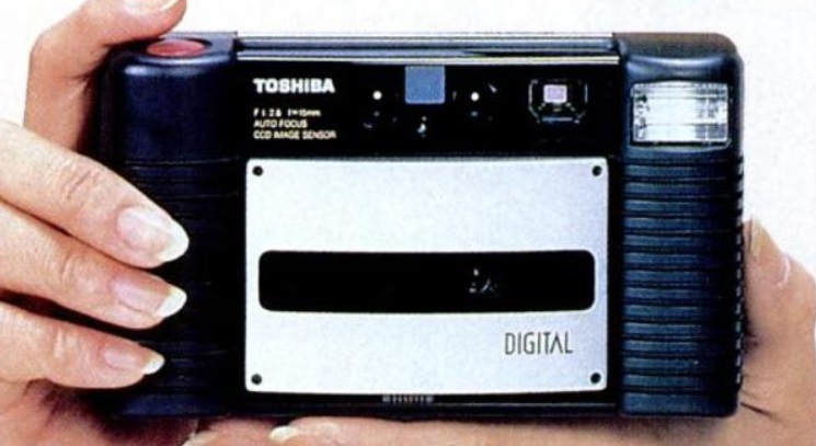 Toshiba IC-100 IC card camera (© Toshiba Corp)