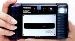 Toshiba IC-100 IC card camera (© Toshiba Corp)