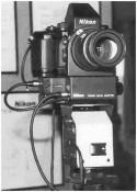 Nikon F4 TV Remote Finder System (© Ron Volmershausen/Shasin Kougyou)