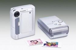 Fujifilm digital in-printer camera with instax mini printer (Stock photo © Fujifilm Corp.)