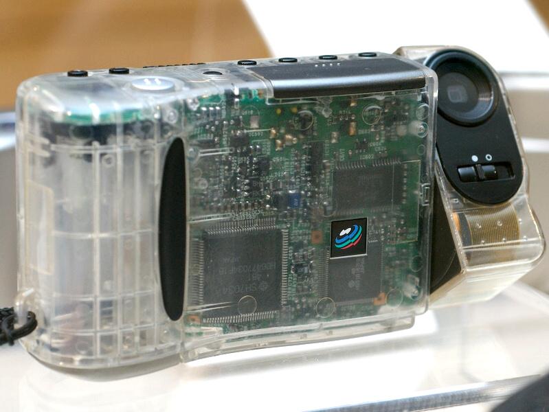 Casio QV-10 skeleton version (© watch.impress.co.jp)