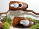 Olympus wooden camera prototype (© Impress Corporation)